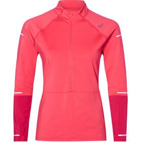 asics Lite-Show Maglietta corsa maniche lunghe Donna rosso